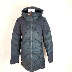 Indygena Edele park, duck down filled winter coat